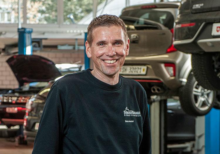 Portrait Stefan Amstad
